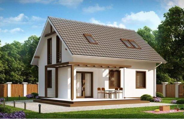Дизайны небольших одноэтажных домов
